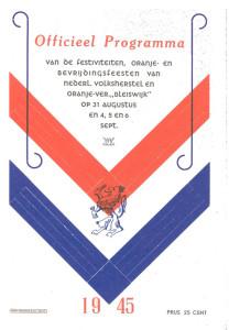 Programma_Oranjecomite_Bleiswijk_1945